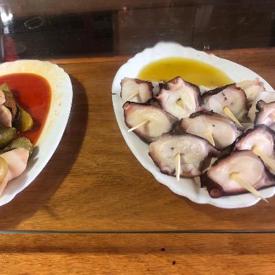 Tesoro Pulpo & Huevo + 1/5 San Miguel